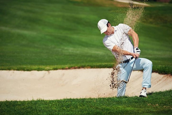 golf bunker